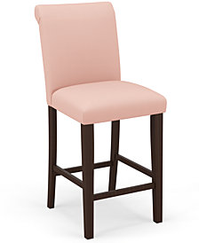 Martha Stewart Collection™ Bedford Collection Eloise Bar Stool, Quick Ship, Created For Macy's