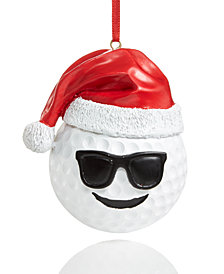 Holiday Lane Emoji Golf Ornament, Created for Macy's