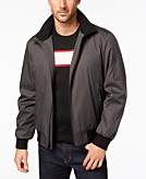 Calvin Klein Mens Ripstop Bomber Jacket