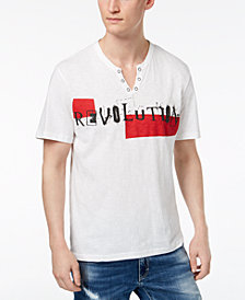 I.N.C. Men's Revolution Graphic-Print T-Shirt, Created for Macy's