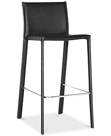 Cyla Bar Stool (Set of 2), Quick Ship