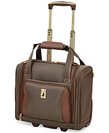 "London Fog Kensington 15"" Wheeled Under-Seat Carry-On Suitcase"