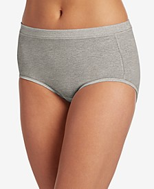 Cotton Stretch Brief 1556, Created for Macy's, also available in extended sizes