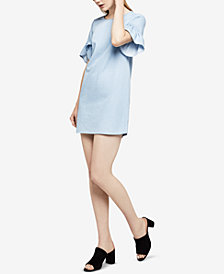 BCBGeneration Cotton Denim Shift Dress