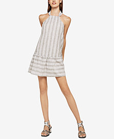 BCBGeneration Double-Striped A-Line Dress