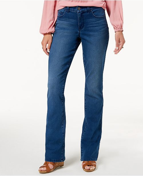 Petite for Bootcut Jeans amp; Control Co Macy's Loveland Tummy Style Created REPfw