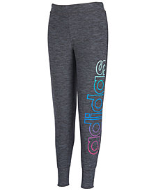 adidas Big Girls Space-Dyed Jogger Pants