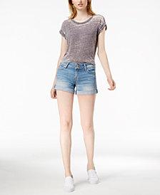 Hudson Jeans Croxley Cuffed Denim Shorts