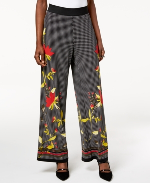 Did Women Wear Pants in the 1920s? Yes! sort of… Alfani Printed Palazzo Pants Created for Macys $15.93 AT vintagedancer.com