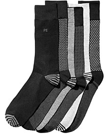 Men's 6-Pk. Herringbone Dress Socks