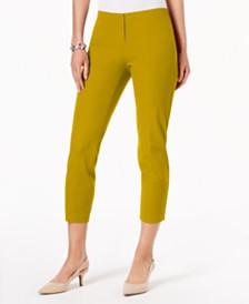 Alfani Petite Hollywood-Waist Skinny Ankle Pants, Created for Macy's