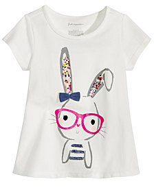 First Impressions Toddler Girls Graphic-Print T-Shirt, Created for Macy's