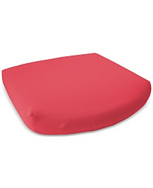 "SensorGel 18"" X 17"" Outdoor Memory Foam Seat Cushion with Sunbrella® Fabric, Quick Ship"