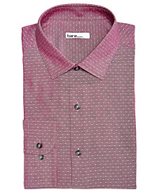 Bar III Men's Slim-Fit Stretch Easy-Care Large Dobby Dot Dress Shirt, Created For Macy's