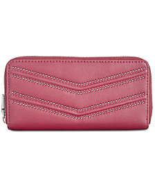 I.N.C. Marney Double Zip Around Wallet, Created for Macy's