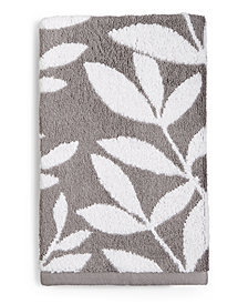 Charter Club Elite Fashion Leaves Cotton Hand Towel, Created for Macy's
