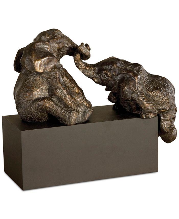 Uttermost - 3-Pc. Playful Pachyderms Bronze Figurines Set