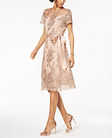 Rose gold sequin dress 16