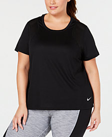 Nike Plus Size Breathe Dri-FIT Running Top
