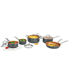 Bella KitchenSmith 10-Pc. Copper Non-Stick Cookware Set