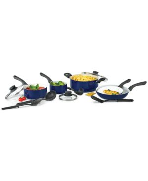 Bella KitchenSmith 12-Pc. Ceramic-Coated Cookware Set 6189717