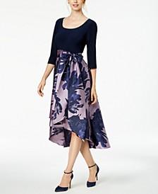 High-Low Contrast Dress