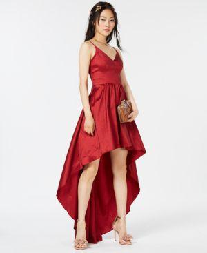 B Darlin Juniors' High-Low Dress