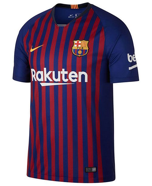 cabfe58b724 Nike Men s FC Barcelona Club Team Home Stadium Jersey   Reviews ...