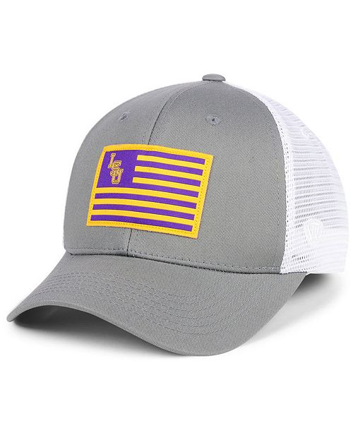 ac0c6bf047e Top of the World LSU Tigers Brave Trucker Snapback Cap   Reviews ...
