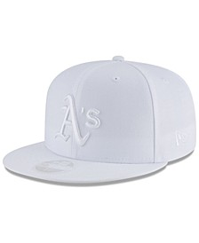Oakland Athletics White Out 59FIFTY FITTED Cap