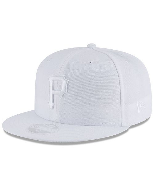 best sneakers d27f2 1f92a ... New Era Pittsburgh Pirates White Out 59FIFTY FITTED Cap ...