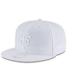 San Francisco Giants White Out 59FIFTY FITTED Cap