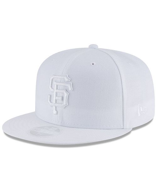 New Era San Francisco Giants White Out 59FIFTY FITTED Cap