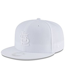 St. Louis Cardinals White Out 59FIFTY FITTED Cap