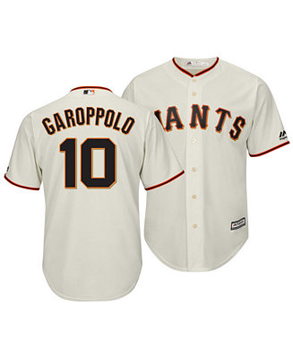 finest selection b7092 16920 Majestic Men's Jimmy Garoppolo San Francisco Giants ...