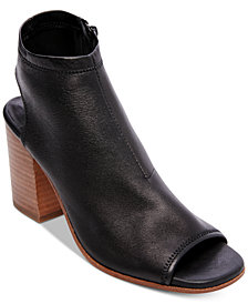 STEVEN by Steve Madden Women's Stesha Stacked-Heel Shooties