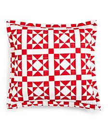 "Calvin Klein Abigail 18"" x 18"" Decorative Pillow, New & First at Macy's"