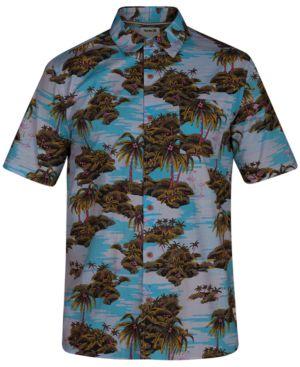 HURLEY Men'S Ocean Bliss Printed Shirt
