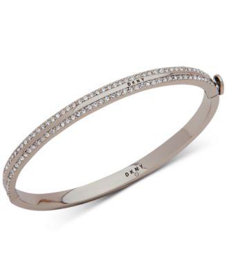 Pavé Bangle Bracelet, Created for Macy's