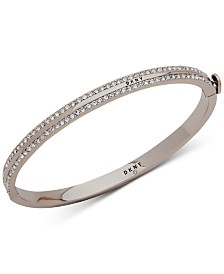 DKNY Pavé Bangle Bracelet, Created for Macy's