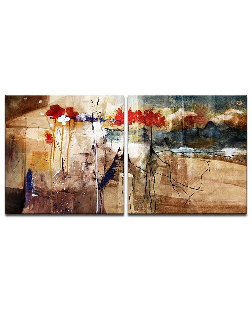 Ready2HangArt 'Floral' Oversized 2-Pc. Canvas Art Print Set