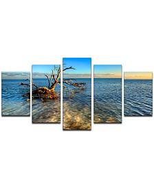 Ready2HangArt 'Ocean View' 5-Pc. Canvas Art Print Set