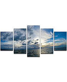 Ready2HangArt 'Sunset at Sea' 5-Pc. Canvas Art Print Set