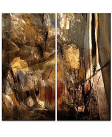 Ready2HangArt 'Earth Tone Abstract I' 2-Pc. Canvas Art Print Set