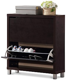 Eemeli Modern Shoe Cabinet, Quick Ship