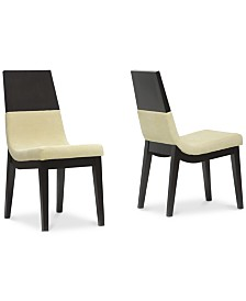 CLOSEOUT! Gussie Dining Chair (Set of 2), Quick Ship