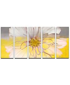 'Painted Petals XXXIV' 5-Pc. Canvas Art Print Set