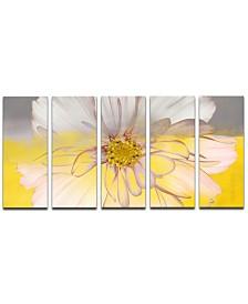 Ready2HangArt 'Painted Petals XXXIV' 5-Pc. Canvas Art Print Set