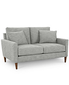 """CLOSEOUT! Emberli 57"""" Fabric Loveseat, Created for Macy's"""