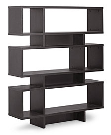 Sione 6 Shelf Modern Bookshelf, Quick Ship